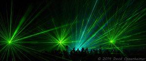 Laser Light Show at Pet Shop Boys