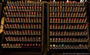 Lipstick Samples Display at Macy's San Francisco