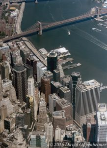 Financial District NYC Aerial Photo
