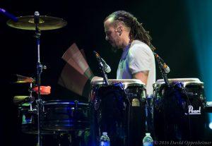 Marc Quiñones with Gregg Allman Band