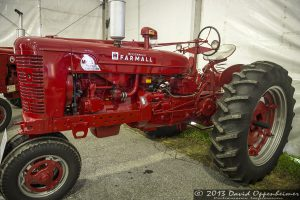Farmall Super MTA Tractor at NC Mountain State Fair