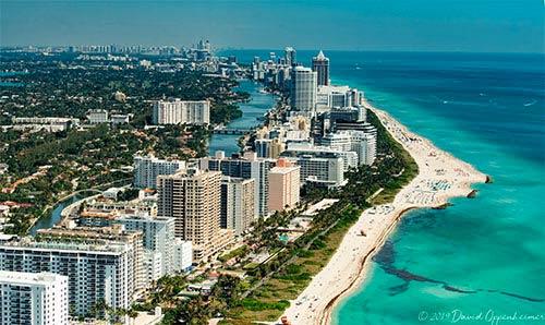 Miami Beach and Miami Aerial and Travel Photos