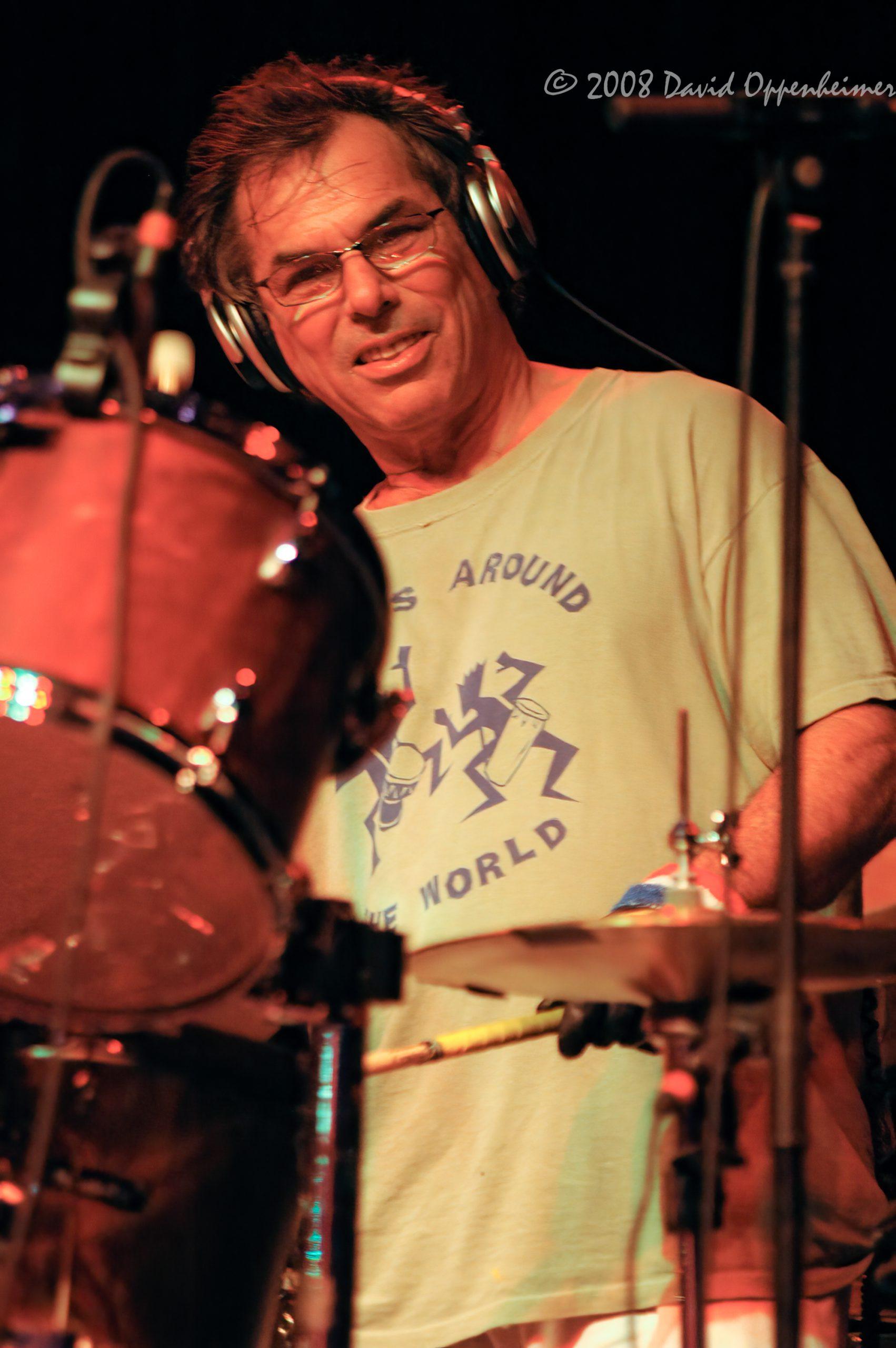 Mickey Hart at Langerado Music Festival 2008