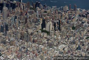 Midtown East Manhattan Skyline Aerial