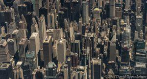 Midtown Manhattan Skyline Aerial