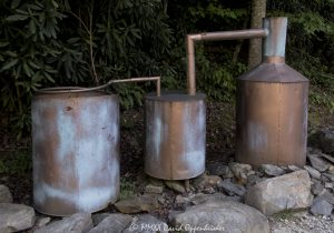 Old Moonshine Still at the Tail of the Dragon at Deals Gap