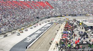 NASCAR Race at Bristol Motor Speedway