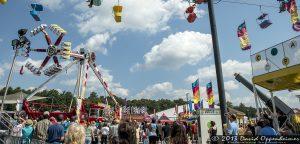 The Rocketman Valencia Human Cannonball at the NC Mountain State Fair