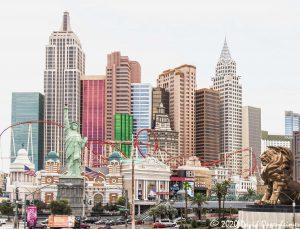 New York-New York Hotel & Casino in Las Vegas, Nevada