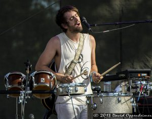 Noah Gersh with Portugal The Man