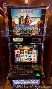 Norse Warrior Slot Machine at Lumière Place Casino