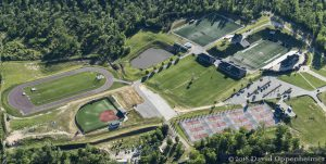 North Greenville University Athletic Complex Aerial