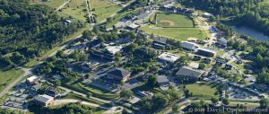 North Greenville University Campus Aerial