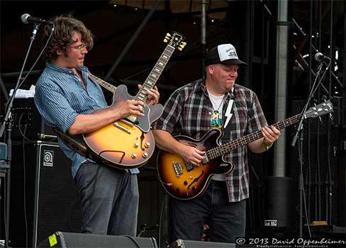North Mississippi Allstars at All Good Music Festival 2013