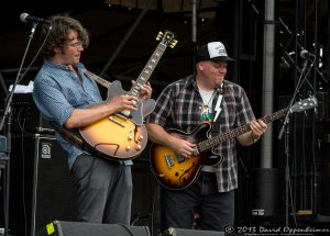 Luther Dickinson and Chris Chew with the North Mississippi Allstars