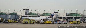 O'Hare International Airport Emergency Response Vehicles