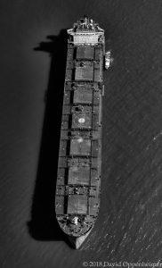 Oil Tanker Ship Aerial
