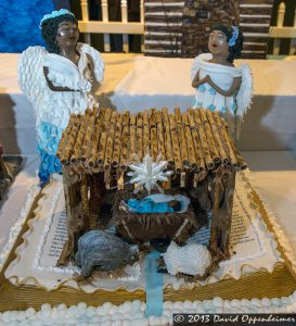 National Gingerbread House Competition at The Omni Grove Park Inn - Nativity Scene