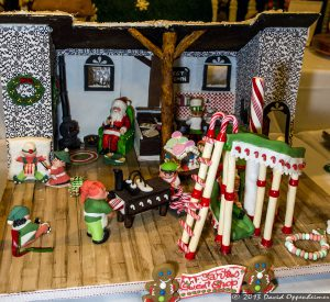 National Gingerbread House Competition at The Omni Grove Park Inn - Santa's Sweatshop