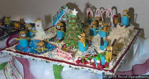 National Gingerbread House Competition at The Omni Grove Park Inn - Village Minions
