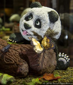 National Gingerbread House Competition at The Omni Grove Park Inn - Panda Bear