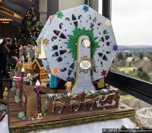 National Gingerbread House Competition at The Omni Grove Park Inn - Santa's Wonder Wheel