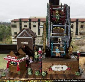 National Gingerbread House Competition at The Omni Grove Park Inn - Ferris Wheel