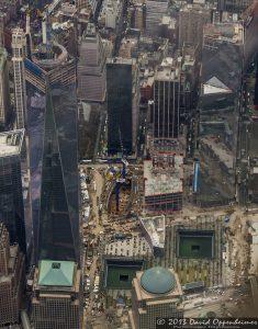 One World Trade Center and National September 11 Memorial & Museum Aerial Photo