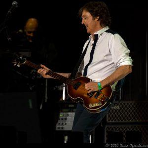 Paul McCartney Performing at Bonnaroo Music Festival