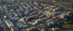 Middletown - Pelham Bay in Bronx Aerial Photo