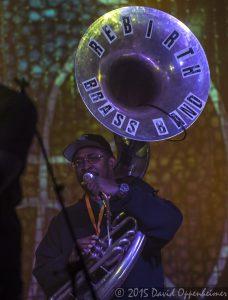 Philip Frazier with Rebirth Brass Band