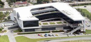 Porsche Experience Center Atlanta Aerial