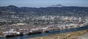 Port of Oakland Aerial Photo