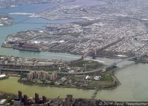 Randalls Island and Wards Island in New York City
