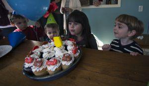 Rebecca and Porter - 4 Year Old Birthdays