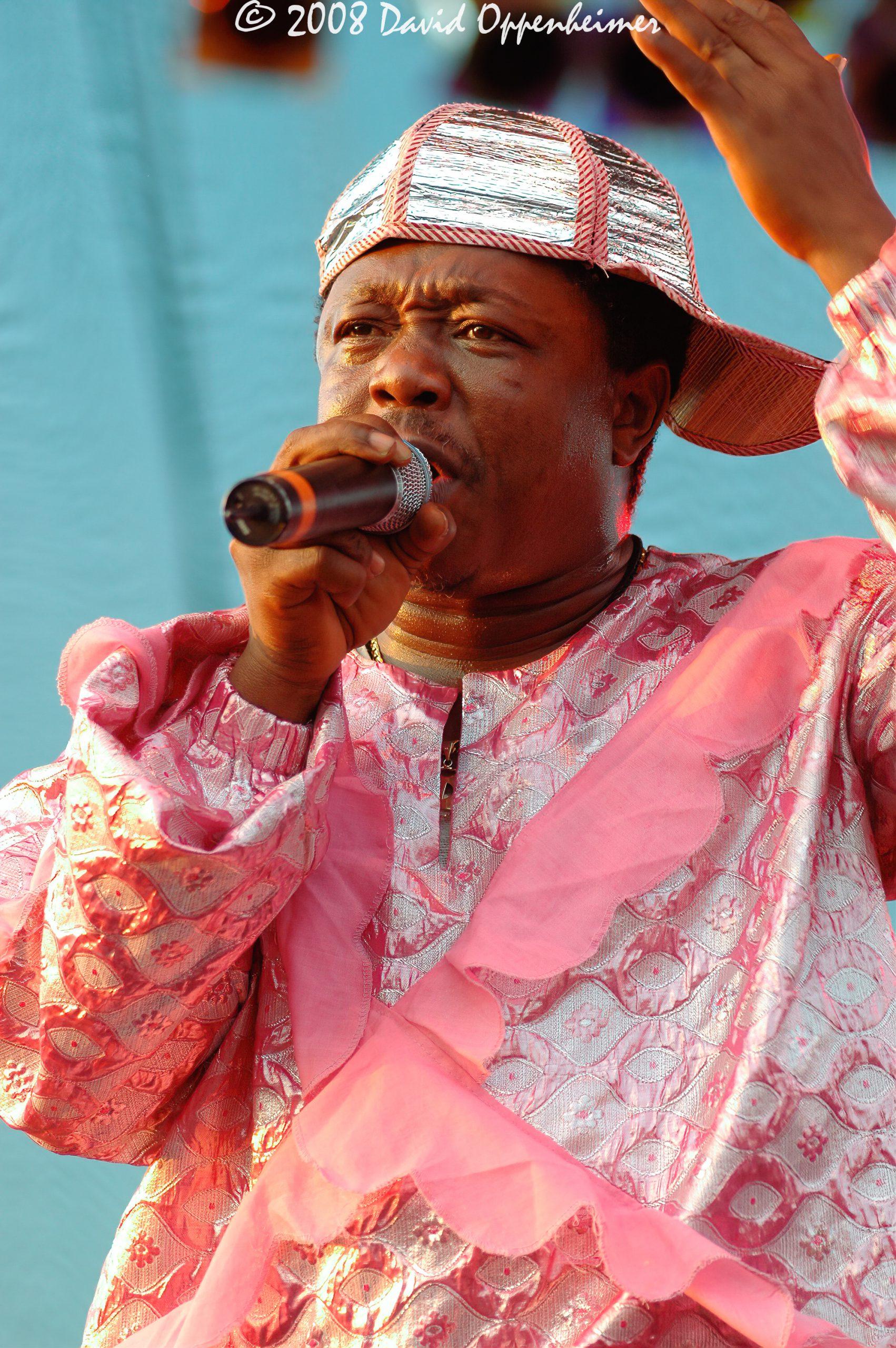 Sierra Leone Refugee All Stars at Langerado Music Festival 2008
