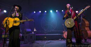 Leah Smith and Cloe Smith with Rising Appalachia
