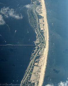 Robert Moses State Park Beach Aerial