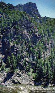 Colorado River in Grand County Colorado