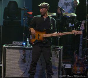 Ron Johnson with Gregg Allman Band
