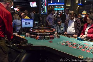 Roulette Table at Harrah's Cherokee Casino Resort and Hotel