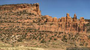 Ruby Canyon in Mesa County Colorado