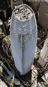 Salesforce Tower in San Francisco Aerial