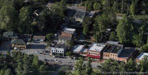 Saluda, North Carolina Aerial