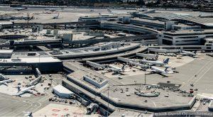 San Francisco International Airport Aerial
