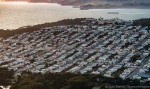 Outer Richmond San Francisco Aerial