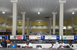 Sangster International Airport in Montego Bay, Jamaica