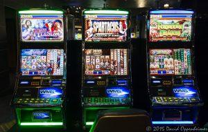 Scientific Games Slot Machines at Harrah's Cherokee Casino Resort and Hotel