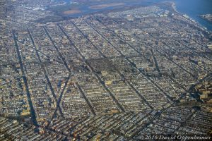 Sheepshead Bay in Brooklyn Aerial Photo