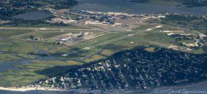 Sikorsky Memorial Airport Aerial